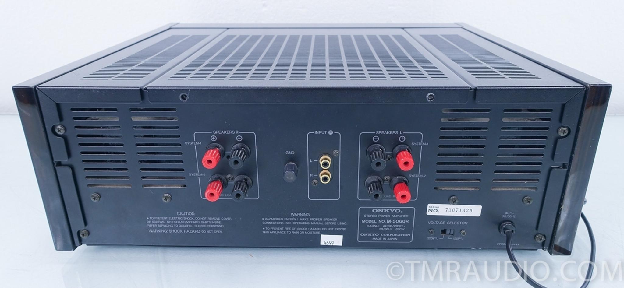 Onkyo M-5060R Power Amplifier