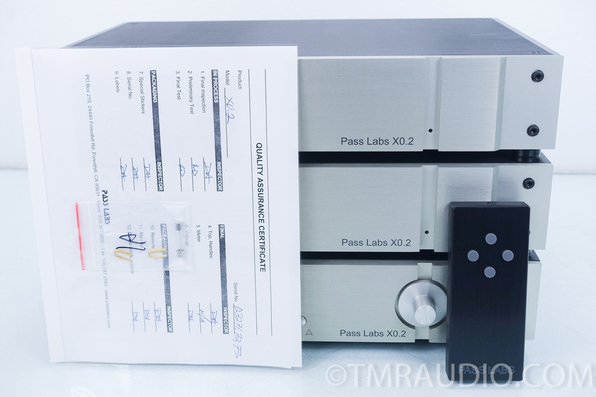 Pass Labs X0 2 Stereo Preamplifier in Factory Box