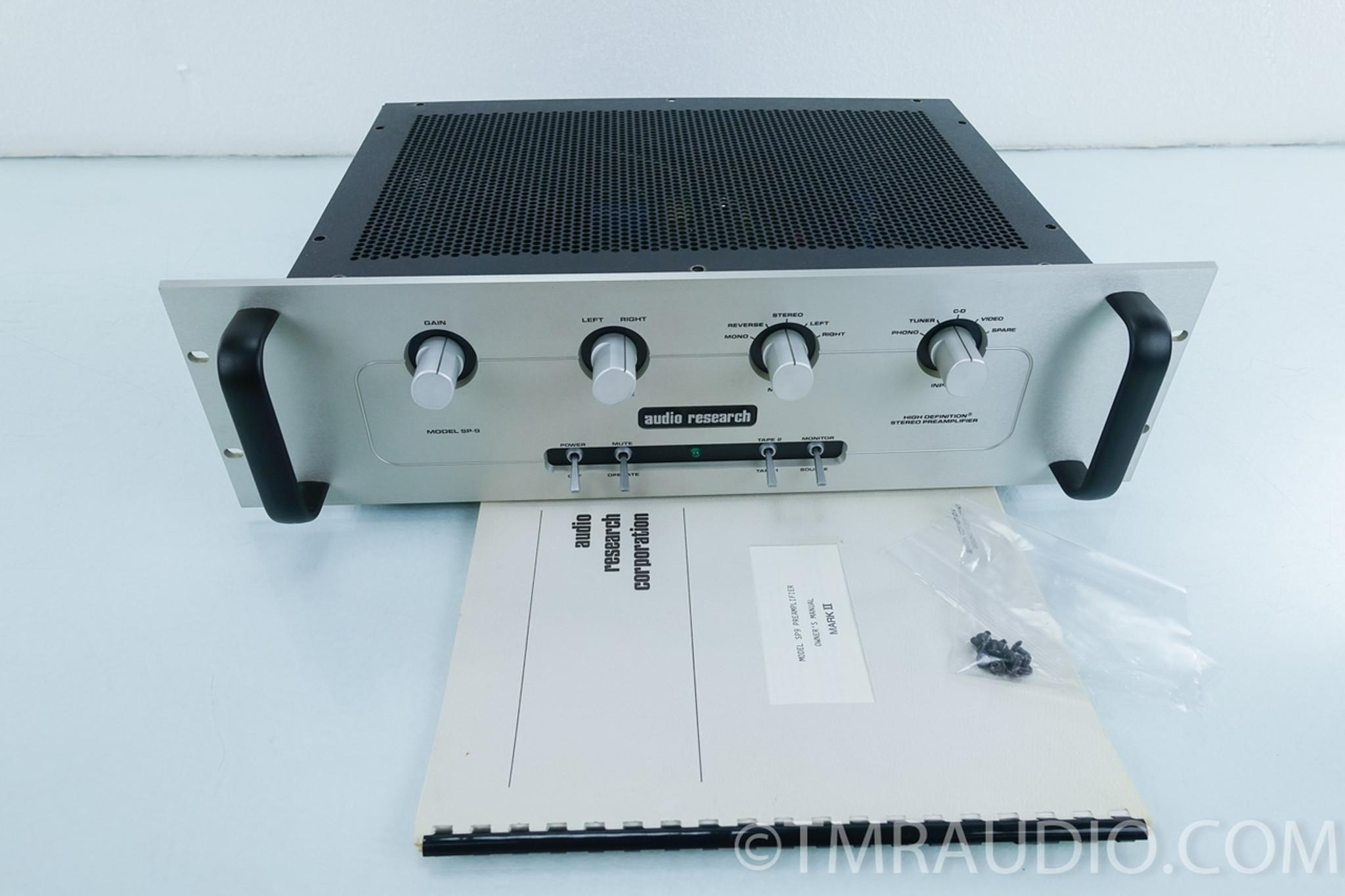 Audio Research SP-9 Mk II Tube Preamplifier