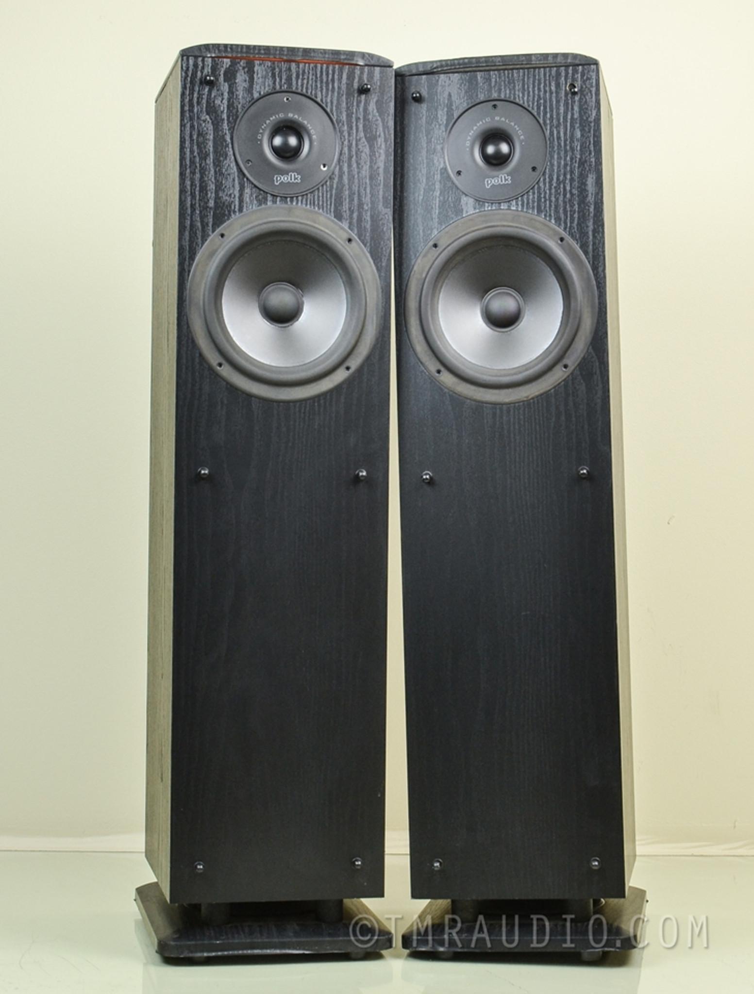 Polk Audio Rt8 Speakers  Compact Floorstanding Pair