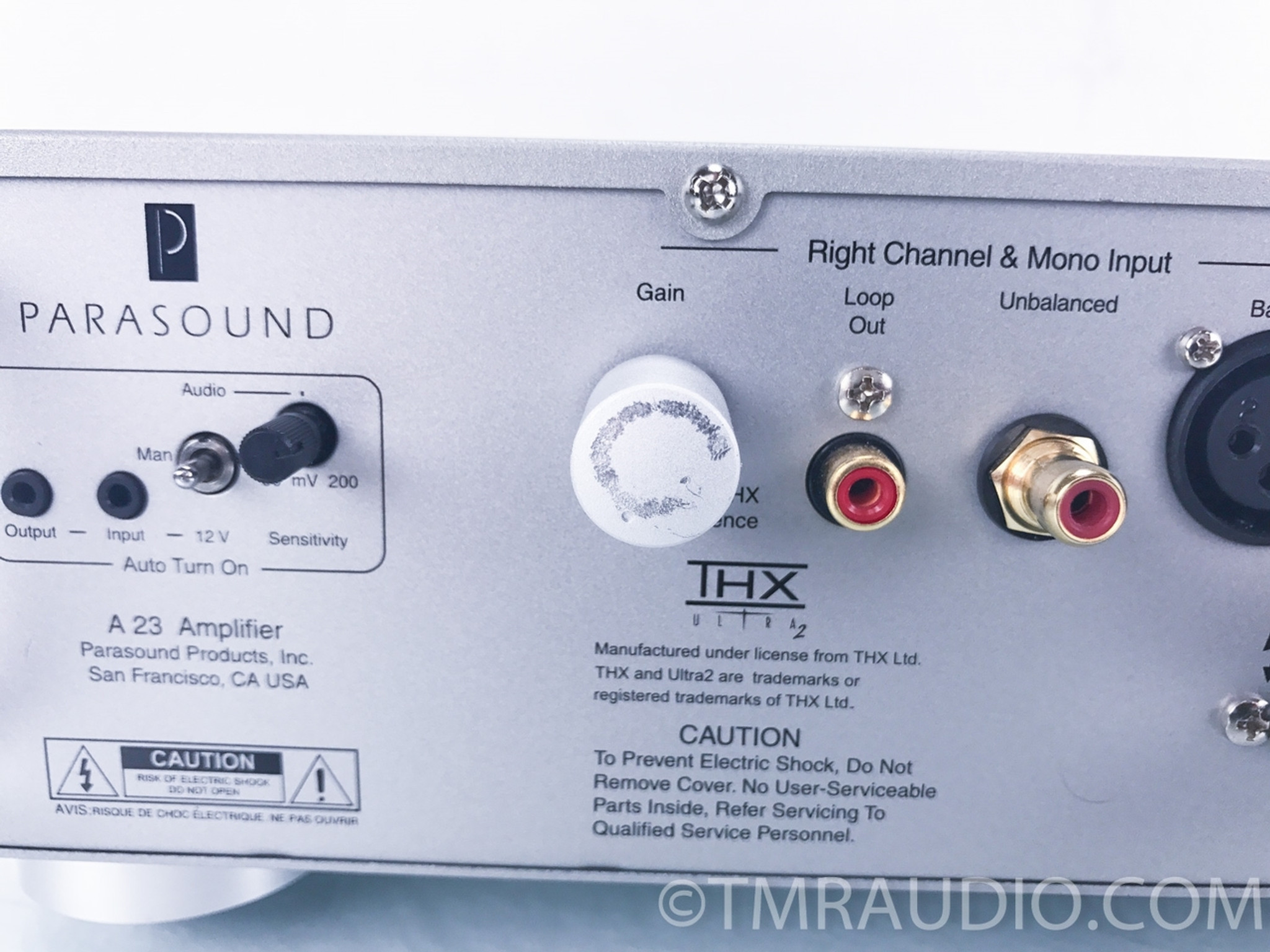 Parasound A 23 Stereo Power Amplifier