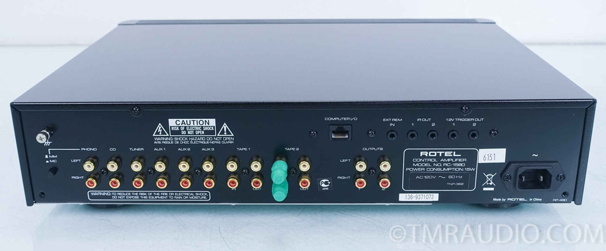 Rotel RC-1580 Stereo Preamplifier