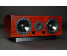 LSA LCR Center Channel / Surround Speaker; Single; Black Ash w/ Base (New old stock)