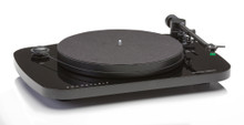 Musical Fidelity Roundtable Turntable System; AT95E Cartridge; Gloss Black (New)