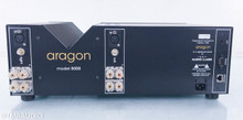 Aragon 8008 Dual Mono Power Amplifier; Black