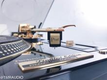Technics SL-1200GLD Limited Edition Turntable; Sumiko Pearl Cartridge