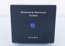 Running Springs Duke Power Conditioner