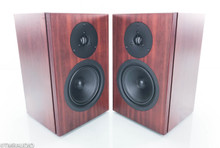 Linn Tukan Bookshelf Speakers; Rosewood Pair (No grills)