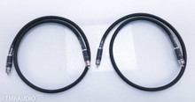 Atlas Cables Mavros RCA Cables; 1m Pair Interconnects