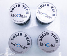 Solid Tech IsoClear Isolation Feet; Set of 4