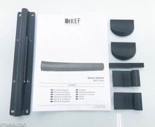 KEF HTF8003 Passive 3-Channel Home Theater Soundbar; Black; HTF-8003