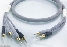 Silnote Anniversary Master Reference Biwire Speaker Cables; 6ft Bi-wire Pair