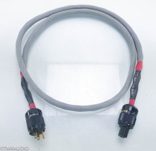 Silver Circle Vesuvius Power Cable; 6ft AC Cord; Wattgate 330i Plugs