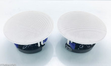 Yamaha NS-IC600 In-Ceiling Speakers; White Pair
