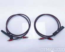 AudioQuest Colorado RCA Cables; 1.5m Pair Interconnects; 72v DBS