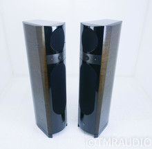 Focal 1038 Be II Floorstanding Speakers; Dark Walnut Pair