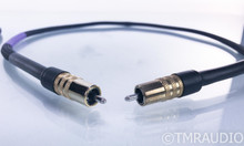 Silnote Audio Poseidon Signature RCA Cables; 1m Pair Interconnects