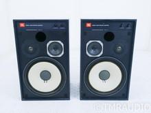 JBL 4312B Vintage Studio Monitor Speakers; Black Oak Pair