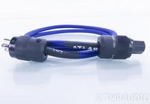 Atlas EOS 2mm Power Cable; 1.5m AC Cord; Rhodium