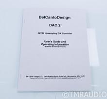 Bel Canto DAC2 Upsampling S/PDIF DAC; 2.0; D/A Converter