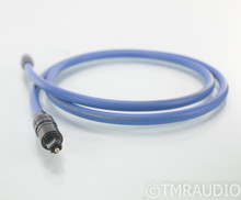 Transparent Audio High Performance Optical Digital Cable; Single 1m Interconnect