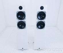 Totem Element Metal Floorstanding Speakers; Ice Pair