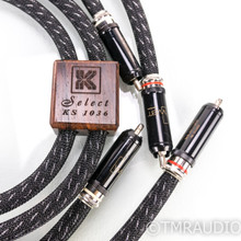Kimber Kable Select KS-1036; 1m Pair Interconnects; WBT-0102 Ag Terminations