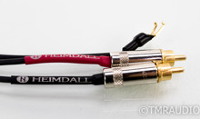 Nordost Heimdall RCA Phono Cable; 1.2m Pair; 90° 5-Pin DIN Connector