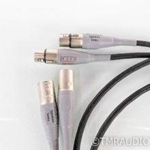 Ayre Signature XLR Cables; 1.5m Pair Balanced Interconnects