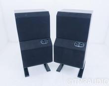 B&W DM6 Floorstanding Speakers; Walnut Pair; AS-IS (Bad Tweeter)