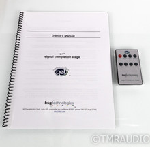 BSG Technologies QOL Signal Completion Stage; Preamplifier; Remote