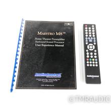AudioControl Maestro M8 7.1 Channel Home Theater Processor; M-8; Remote (SOLD)