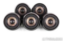 Anthony Gallo Acoustics Nucleus Micro Satellite Speakers w/ Wall Mount; Set of 5