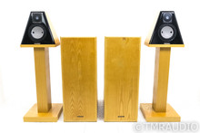 Coincident Pure Reference Extreme Speaker System; Ash Pair w/ Stands