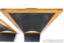 Martin Logan CLS Vintage Electrostatic Speakers; Dark Oak Pair; AS-IS (Buzz)