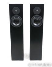 Totem Forest Floorstanding Speakers; Black Pair