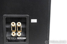B&W DM 630 Floorstanding Speakers; Black Ash Pair; DM630