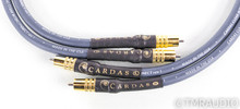 Cardas Clear RCA Cables; 1m Pair Interconnects; rev1
