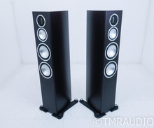 Monitor Audio Gold 300 Floorstanding Speakers; Dark Walnut Pair