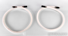 Stealth Audio Indra XLR Cables; 1m Pair Balanced Interconnects; Rev. 08