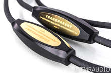 Transparent Audio Reference Balanced XLR Cables; 7.5ft Pair Interconnects