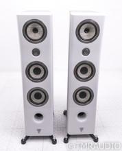 Focal Kanta 2 Floorstanding Speakers; High Gloss White/Black Pair; No.2