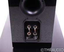B&W 702 S2 Floorstanding Speakers; Gloss Black Pair; 702S2