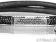 Revelation Prophecy CryoSilver Reference BNC Coaxial Cable; 1m Digital Interconnect