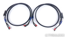 AudioQuest Thunderbird Zero Speaker Cables; 8ft Pair; 72v DBS