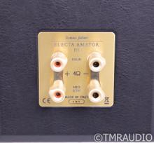 Sonus Faber Electa Amator III Bookshelf Speakers; Walnut Pair w/ Carrara Stands