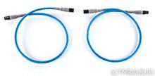 Cardas Quadlink 5-C XLR Cables; 1m Pair Balanced Interconnects