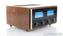 McIntosh MC7270 Vintage Stereo Power Amplifier; MC-7270; Walnut Cabinet