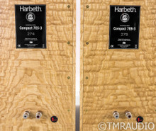 Harbeth Compact 7ES-3 40th Anniversary Speakers; Tamo Ash Pair; Full Warranty