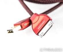 Audioquest Cinnamon iPod USB Digital Cable; Single 3m Interconnect; 30-Pin